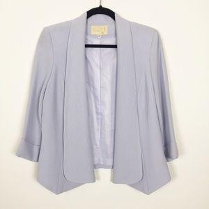 Alberto Makali Sz. M 3/4 Sleeve Blazer in Lilac